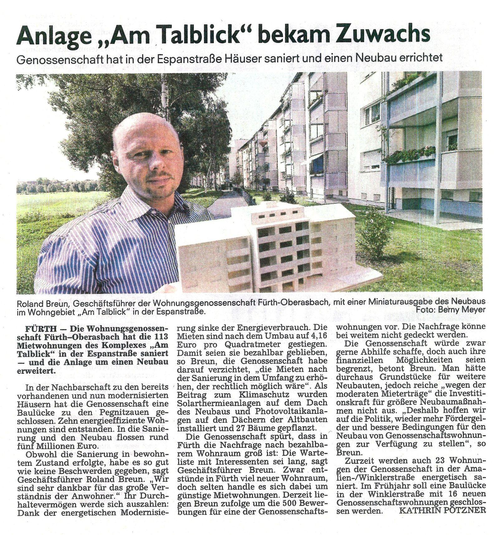 """Anlage """"Am Talblick"""" bekam Zuwachs …"""