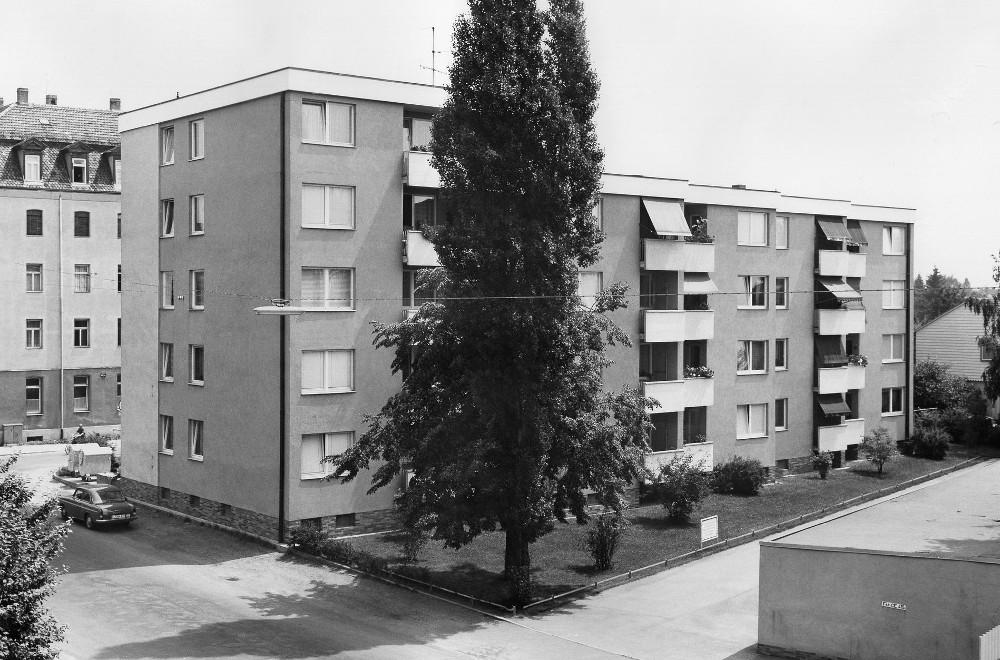 Georgenstraße 36, 38, 40 damals