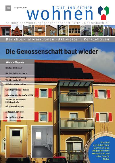 Ausgabe Nr. 10 / 2015