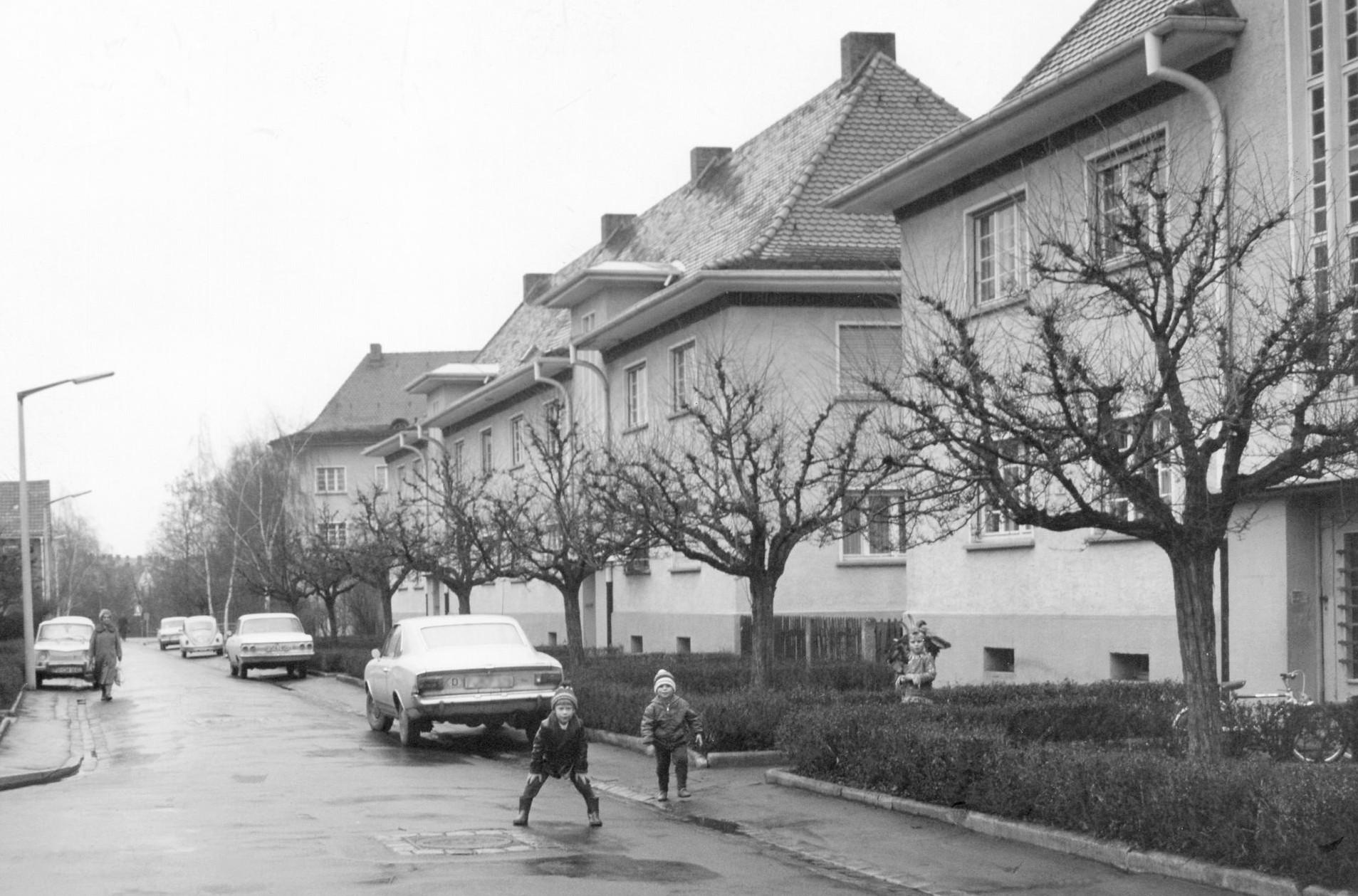 Georgenstraße-damals-Bildansicht