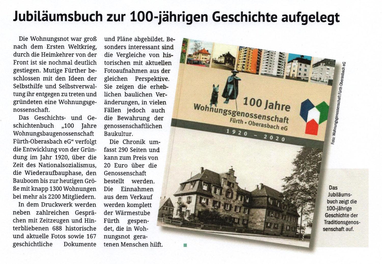 Jubiläumsbuch zur 100-jährigen Geschichte aufgelegt